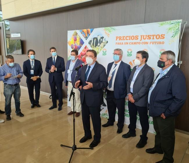 Planas prevé que el agro verá rebajada en más de mil millones de euros la base imponible del IRPF de 2020