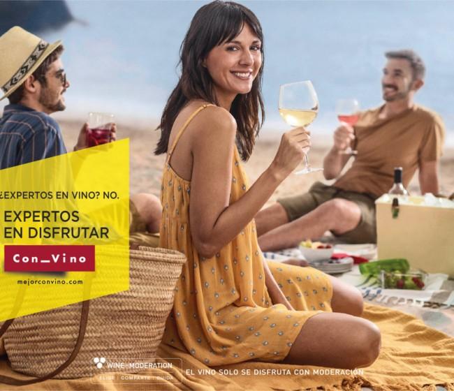"""La Interprofesional del Vino de España lanza la campaña """"Expertos en disfrutar Con_Vino"""""""
