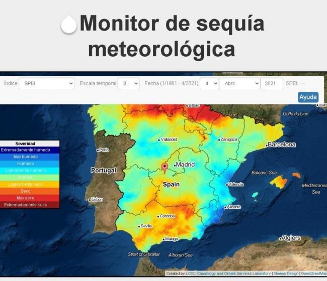 AEMET lanza un nuevo sistema para monitorizar sequías en tiempo real