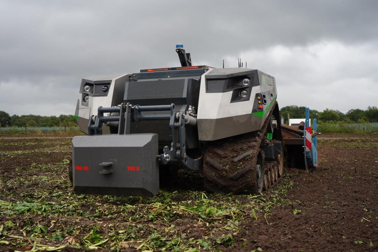 Claas trabaja con AgXeed en el desarrollo de máquinas agrícolas autónomas