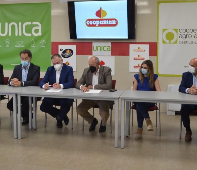 La cooperativa de 2º grado Coopaman firma su plena integración en UNICA, la mayor exportadora hortícola