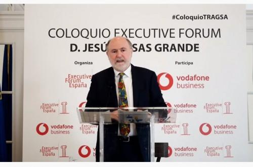 """Jesús Casas, presidente de Tragsa: """"Somos el tercer ingreso que se produce en el medio rural, por detrás de las pensiones y de la PAC"""""""