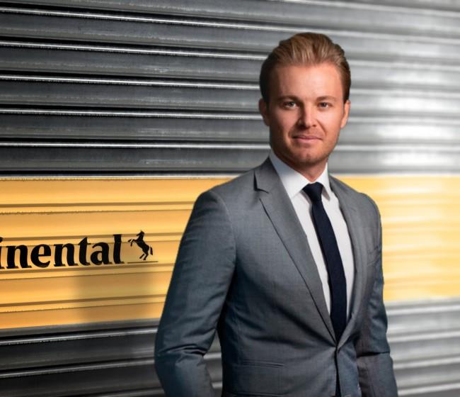 Nico Rosberg, nuevo embajador de la marca Continental