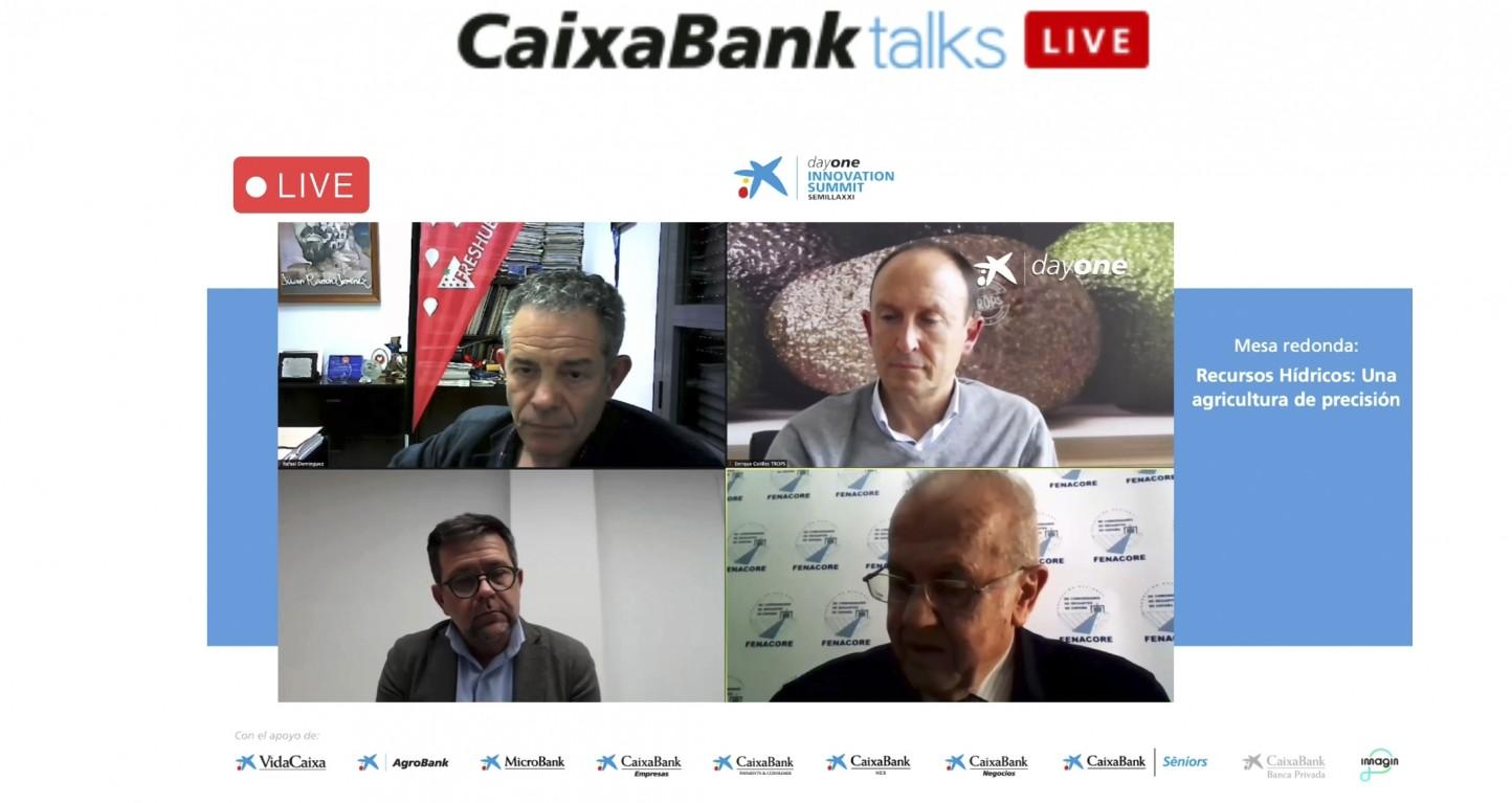 La agricultura sostenible de regadío centra la octava jornada de CaixaBank Semilla XXI