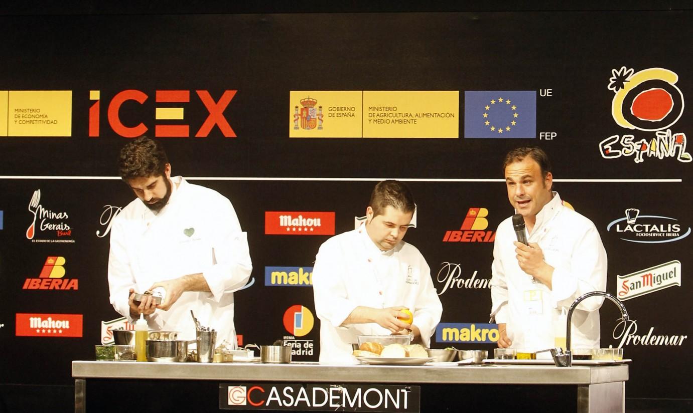 «Alimentos de España» será el principal patrocinador del congreso Madrid Fusión