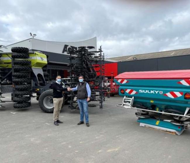AG-Group distribuirá las abonadoras Sulky en el mercado español