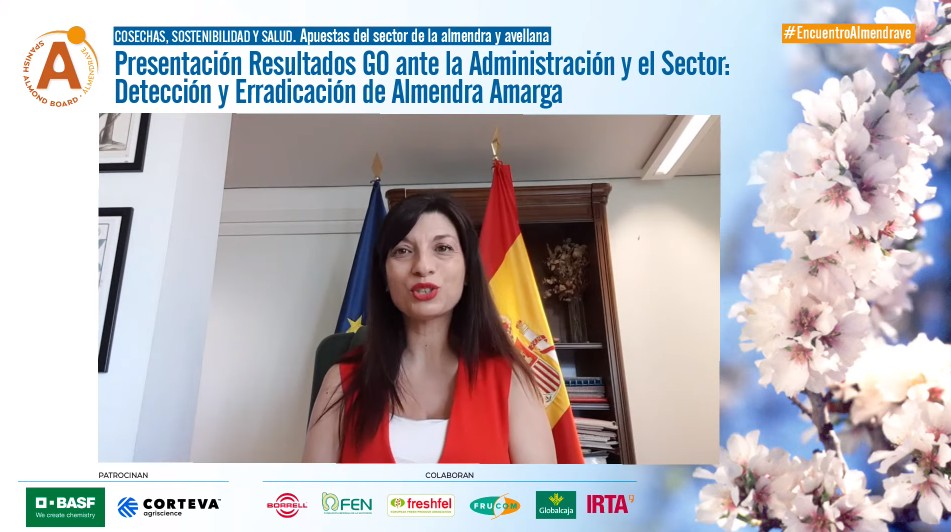 04 Isabel Bombal durante el VI Encuentro de la Almendra y la Avellana