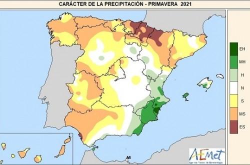Un verano más seco de lo habitual en el noroeste y más cálido en toda España