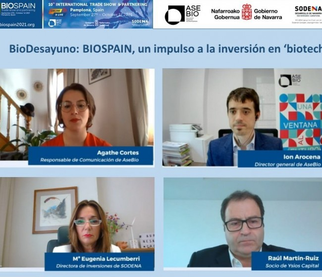 BIOSPAIN 2021: impulso para la inversión en biotecnología en un año decisivo