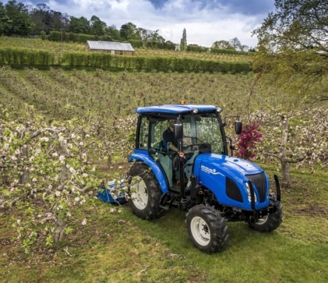 New Holland lanza la nueva serie de tractores compactos Boomer Fase V