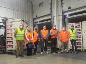 El CGC realiza el primer envío de prueba de 11 contenedores de naranjas a India