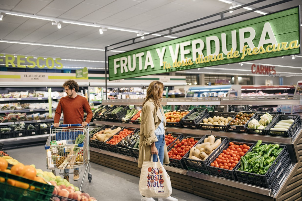 El gasto en productos frescos aumentó un 14% en 2020, más de 260 euros por hogar