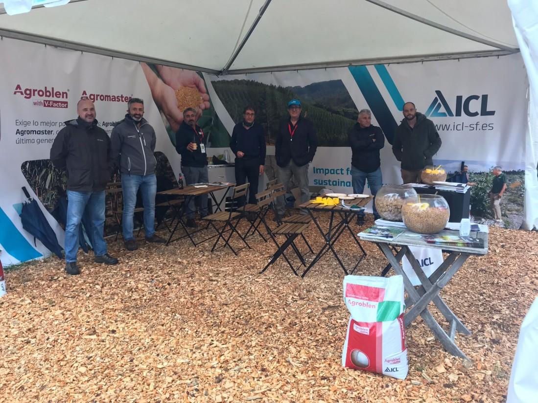 ICL presenta en Asturforesta el nuevo Agroblen con tecnología V-Factor para nuevas plantaciones