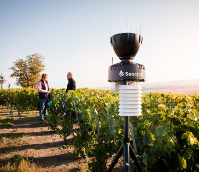 Sencrop instala su estación meteorológica número 20.000 en solo cinco años