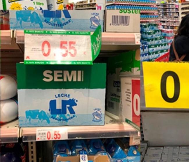 """Los ganaderos piden al Gobierno """"mano dura"""" para evitar ofertas generalizadas de leche UHT ilegales"""