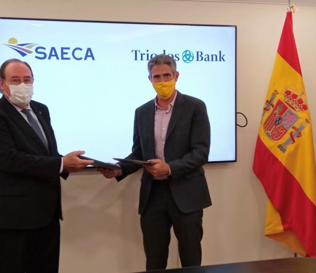 Convenio entre SAECA y Triodos Bank para facilitar el acceso a la financiación del sector primario