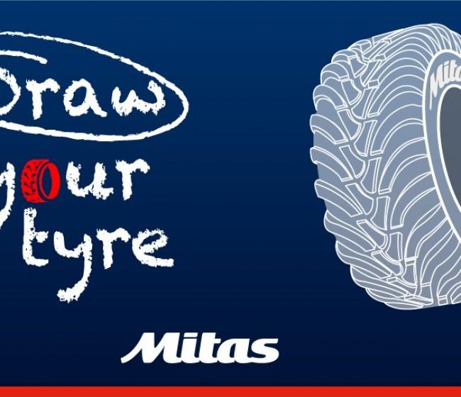 Mitas lanza el desafío «Draw Your Tyre»