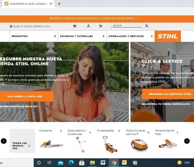 STHIL lanza su tienda online en España: www.sthil.es