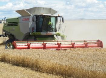 Riesgo de incendios en cosechadoras de cereal
