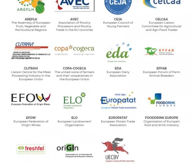 Revisión de la política de promoción agroalimentaria de la UE: 15 organizaciones europeas expresan sus demandas