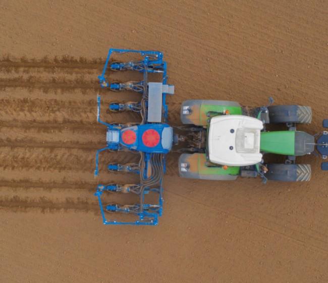 La sembradora Azurit de Lemken, ahora también para soja, girasol y microgranulados