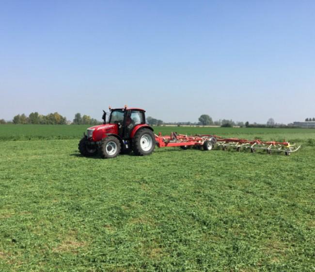 Nueva serie de tractores McCormick X5 Fase V