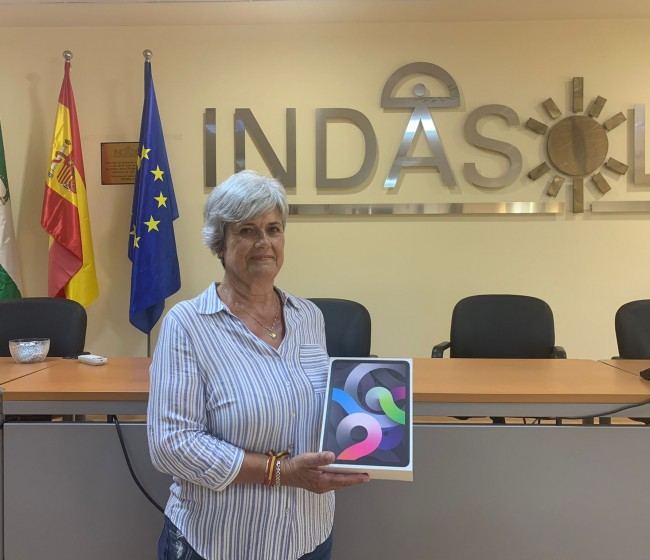 Emilia Escobar, primera ganadora de un Ipad Air con la campaña de Nunhems