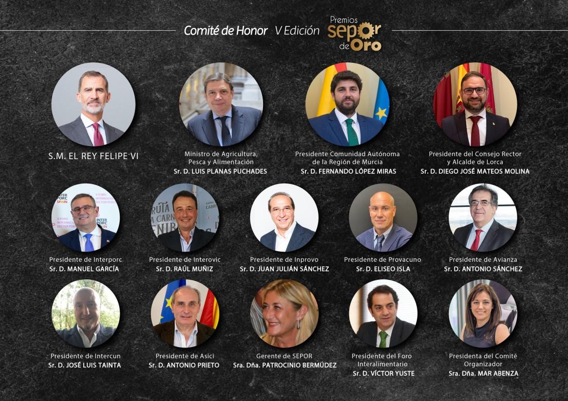 La Casa Real será miembro del comité de honor de los V Premios Nacionales Sepor de Oro