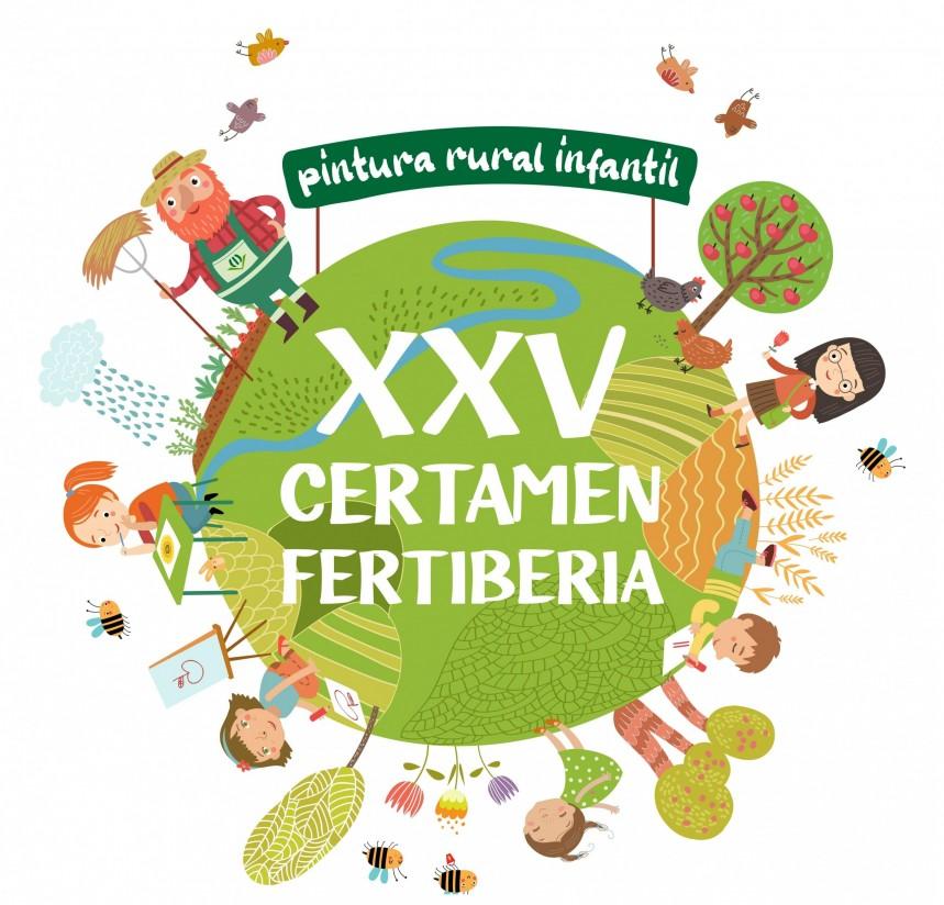 Arranca la 25ª edición del Certamen de Pintura Rural Infantil de Fertiberia