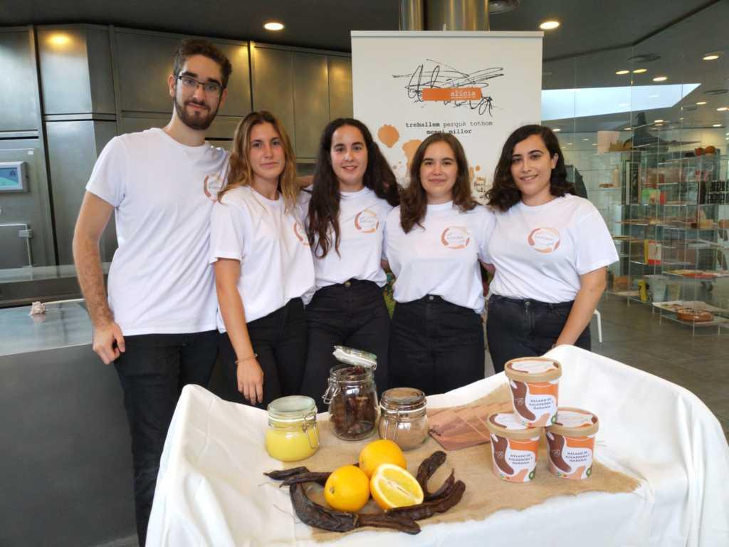 Estudiantes de la UPV ganan los XII Premios Ecotrophelia España con un helado de naranja y algarroba
