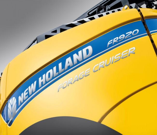 New Holland Agriculture celebra el 60 aniversario de sus picadoras de forraje con una edición especial de la FR Forage Cruiser