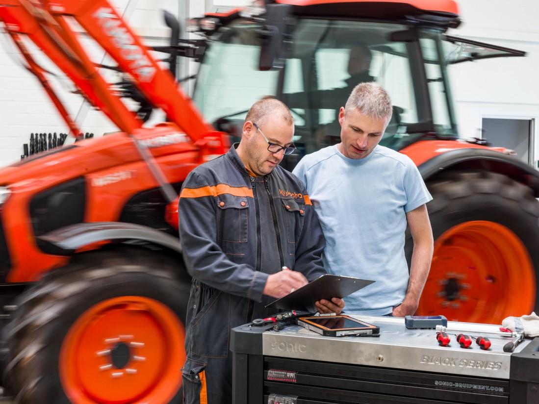 Kubota pone a disposición de sus clientes el programa de mantenimiento Profi-Check