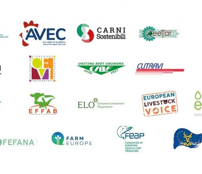 """Organizaciones europeas de la cadena agroalimentaria alertan de la insostenibilidad de la Estrategia """"De la granja a la mesa"""""""