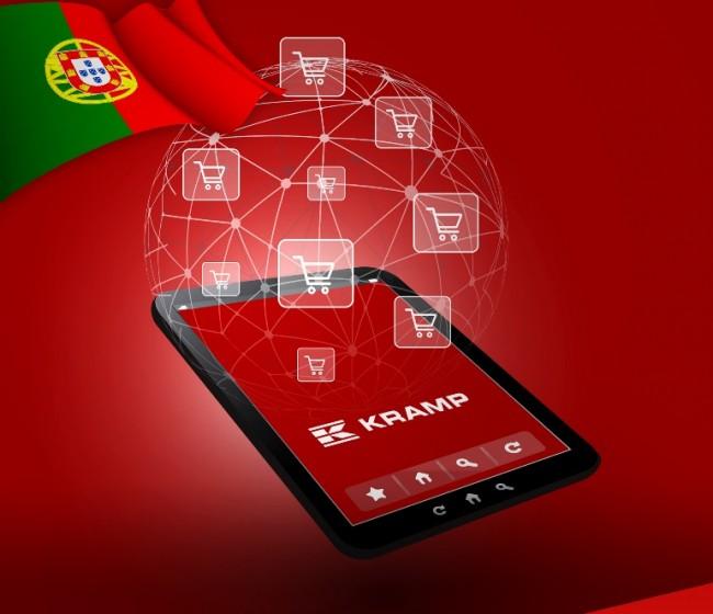 La tienda online de Kramp, ahora también disponible en portugués