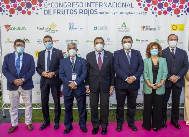 El VI Congreso Internacional de Frutos Rojos analiza nuevas oportunidades de negocio para el sector de las berries