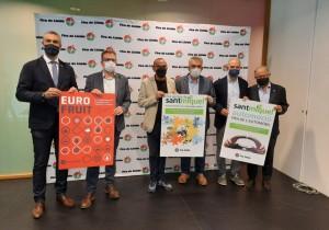 Casi 300 expositores se darán cita en Sant Miquel y Eurofruit 2021