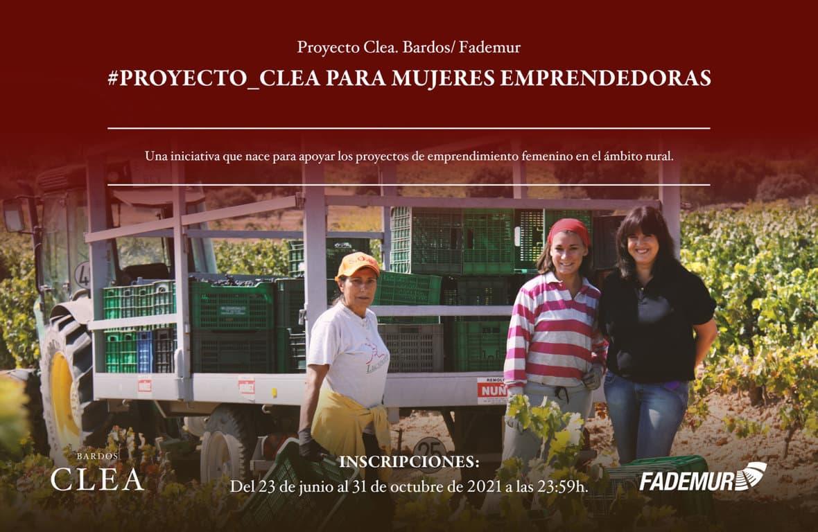Fademur y Bodegas Bardos lanza el Proyecto Clea para emprendedoras rurales