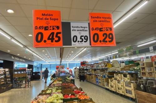 """AVA-ASAJA denuncia ante AICA la supuesta """"venta a pérdida"""" de melón y sandía por la cadena de distribución alemana Lidl"""