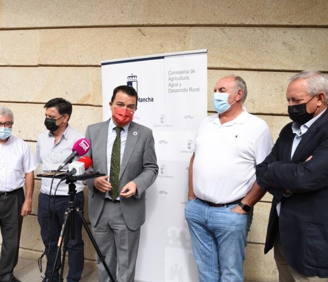 Castilla-La Mancha seguirá demandando una convergencia del 100% en la nueva PAC