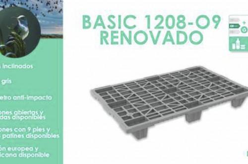 Naeco renueva su gama de palets BASIC más ligera