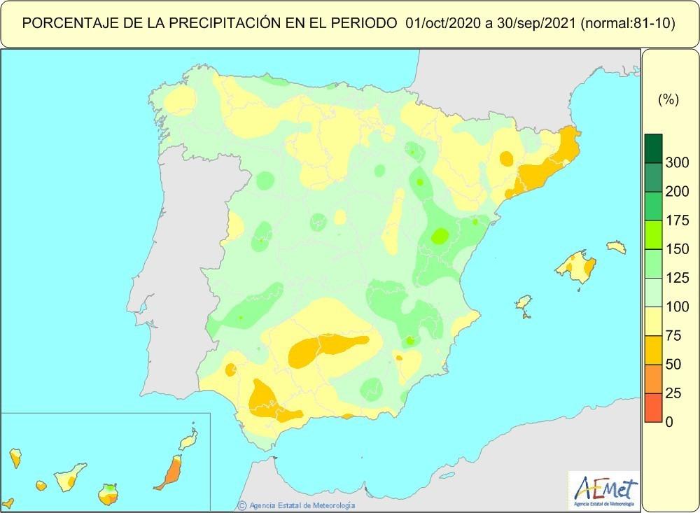 21.10.08 Porcentajeprecipiotacionanhohidrologico _baja
