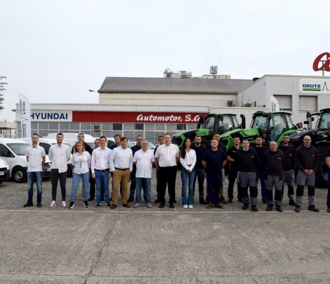 Automotor, nuevo concesionario de Deutz-Fahr en la provincia de Lleida