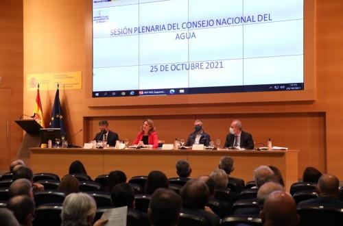 El CNA dasu visto bueno a la nueva planificación hidrológica propuesta por el Miterd