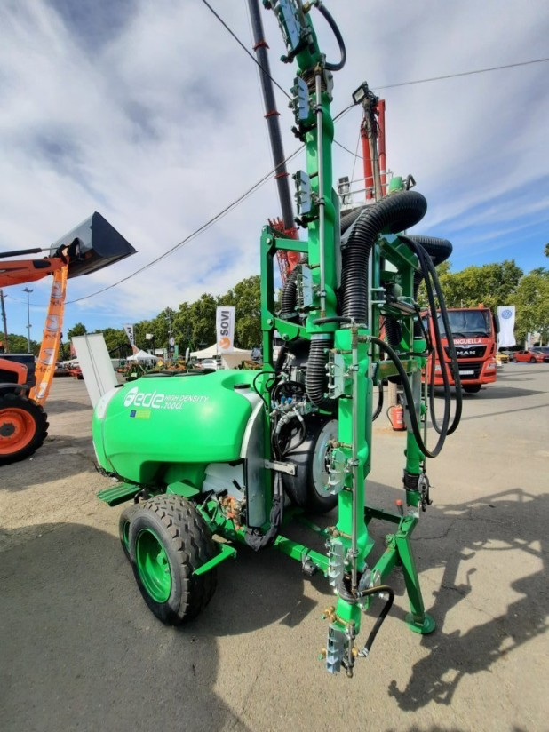 Un atomizador para frutales, Premio de la Innovación de la Feria de Sant Miquel