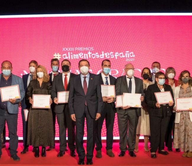 El MAPA entrega sus XXXIII Premios Alimentos de España