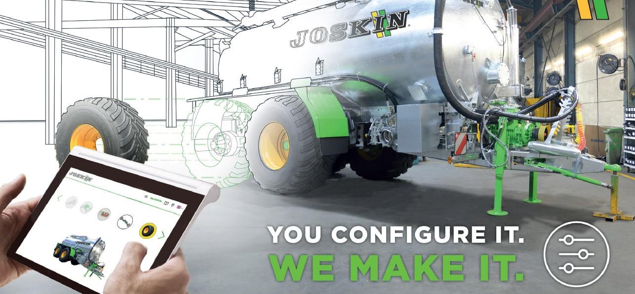 Joskin amplía su configurador online con más gamas de producto