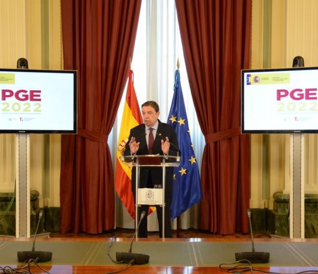 El MAPA gestionará una partida presupuestaria de 8.934,5 M€ en 2022