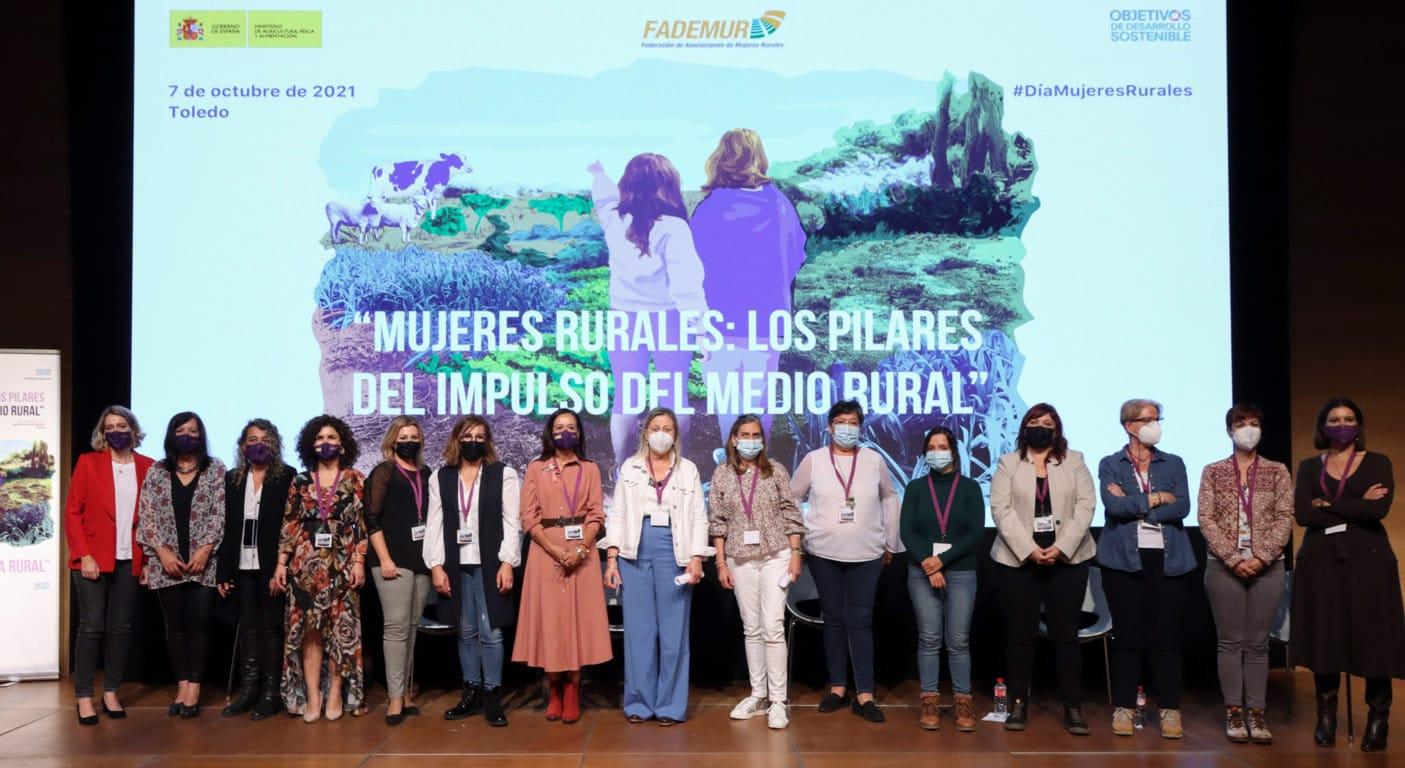 Quinientas mujeres rurales dan visibilidad en Toledo a sus problemas cotidianos