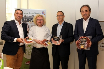 Aire Sano presenta la primera paleta con DOP Teruel