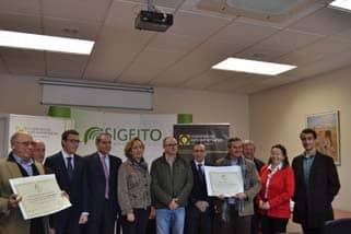 Sigfito entrega sus Premios a las cooperativas más comprometidas con el reciclaje y el medio ambiente